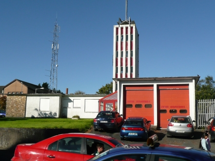 Old  & New  Fire Station Letterkenny