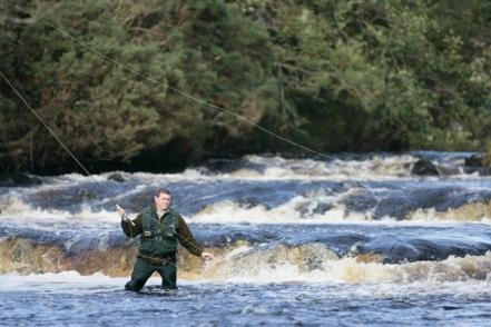 Fly Fishing in the   River Lennon Upper Churchill