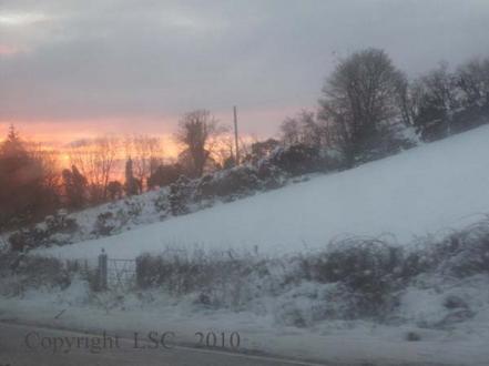 Snow covered Letterkenny