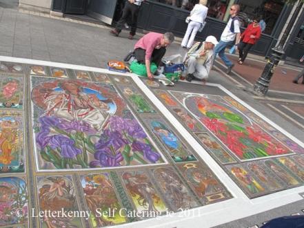 Dublin Street Artist