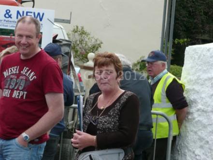locals enjoying the Churchill Fair