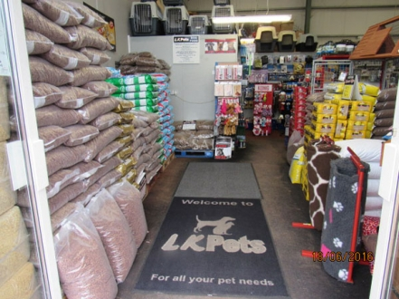 LK Pets  Glencar Shopping Center  Letterkenny
