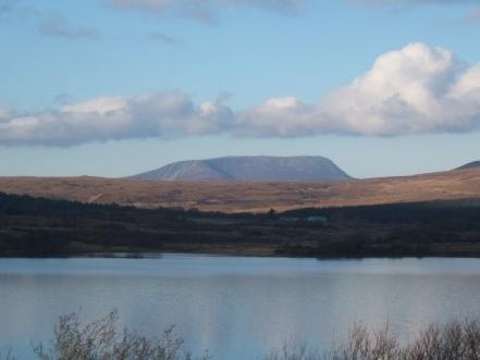 Spectacular Muckish Mountain, photo taken from Glendowan