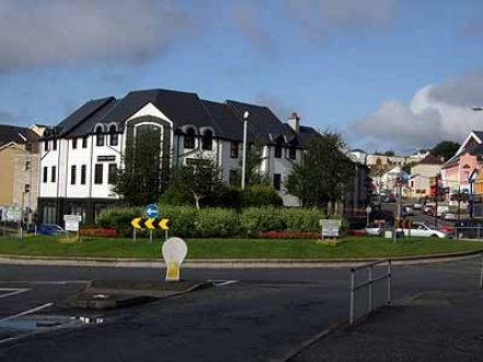 Station Roundaout ,  Port Road Letterkenny